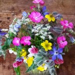 Herbs in flower arrangments