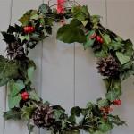 Budget Christmas wreath