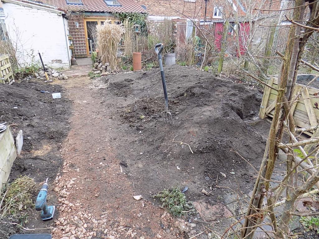 Cutting garden revamp