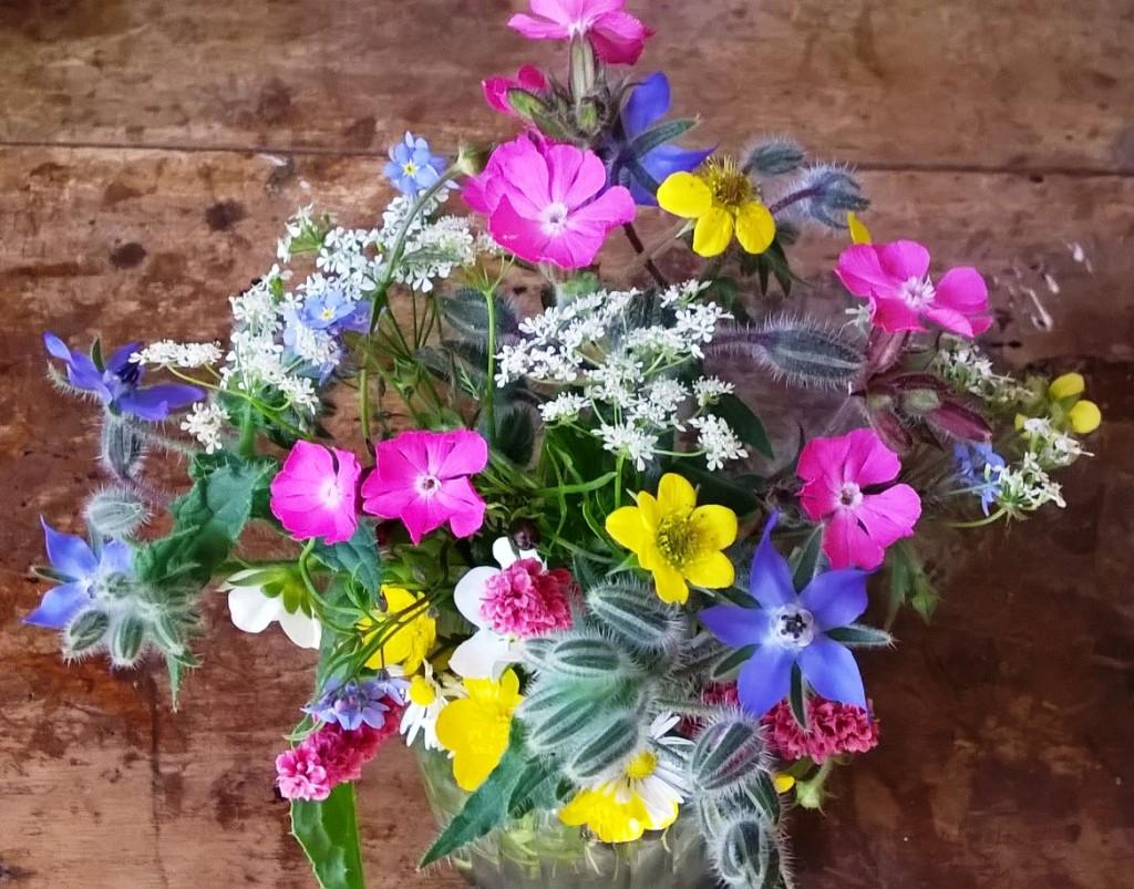 Herbs in flower arrangments
