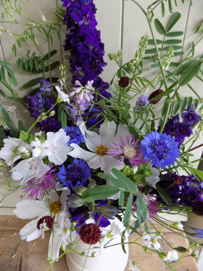 Flowers from the cutting garden in July